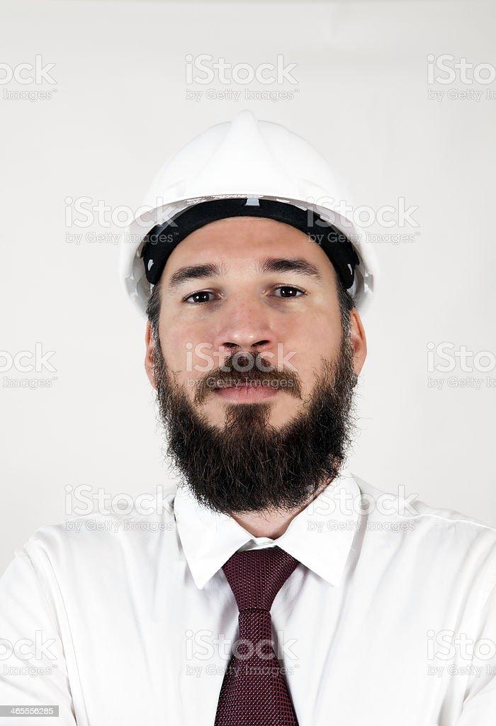 Portrait Of Architect royalty-free stock photo