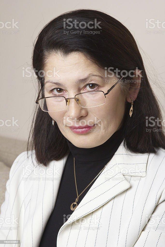 Portrait of Asian Businesswoman royalty-free stock photo