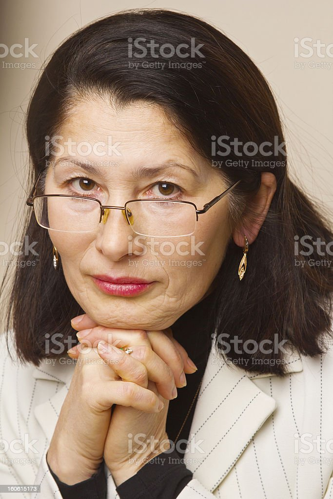 Portrait of Asian Businesswoman royalty-free stock photo