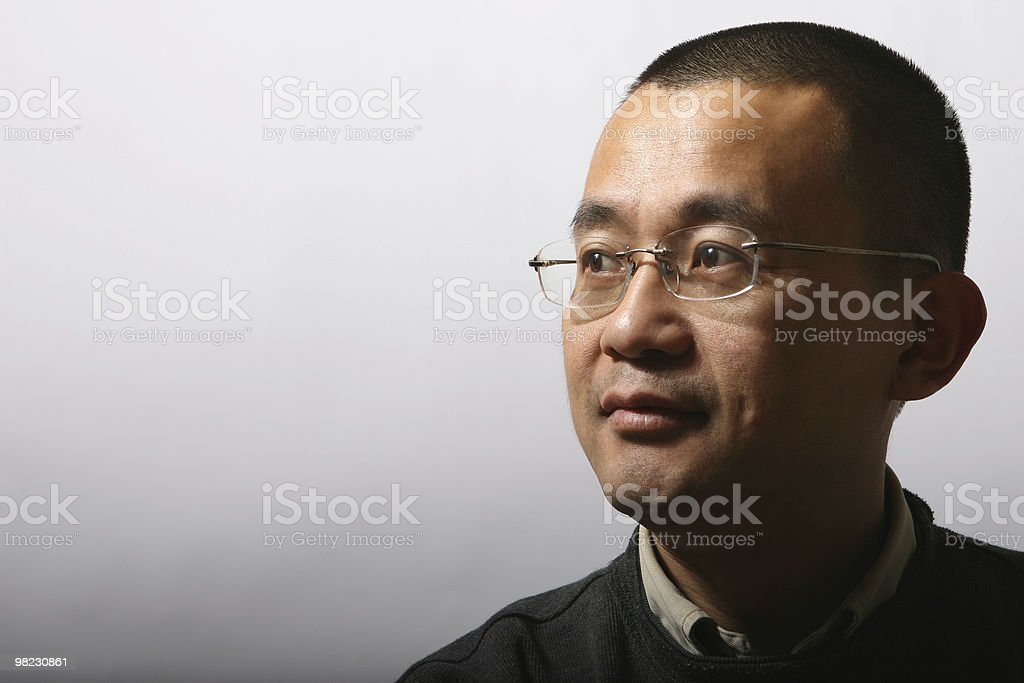 portrait of asian mid-adult man royalty-free stock photo