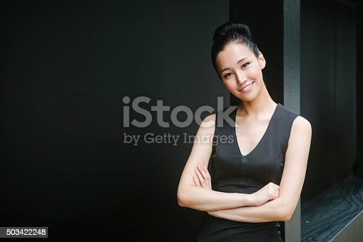 istock Portrait of Asian Woman 503422248
