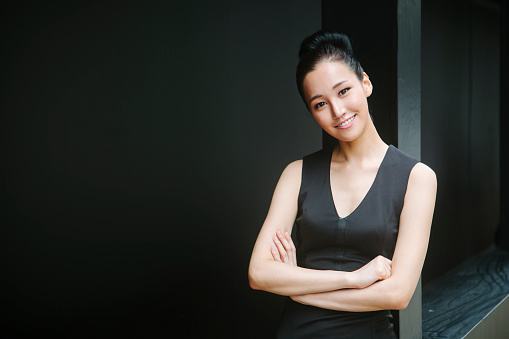 Portrait Of Asian Woman Stock Photo - Download Image Now