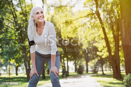Senior Adult, Exercising, Jogging, Healthy Lifestyle, Sport
