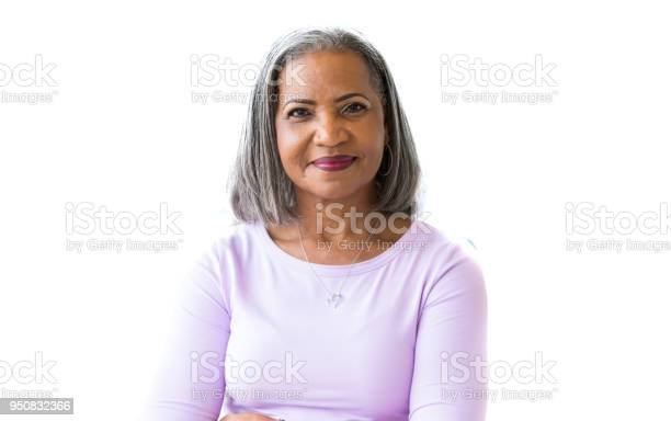 Portrait of attractive african american senior woman picture id950832366?b=1&k=6&m=950832366&s=612x612&h=ivxleavklrakpy6rwnipgzev3qiprarrmdmcstcafqg=