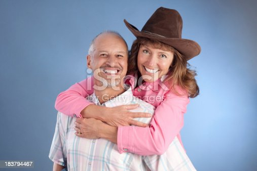 529076288 istock photo Portrait of Attractive Happy Mature Western Couple 183794467