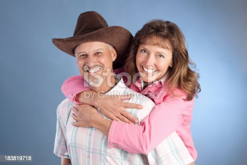529076288 istock photo Portrait of Attractive Happy Mature Western Couple 183819718