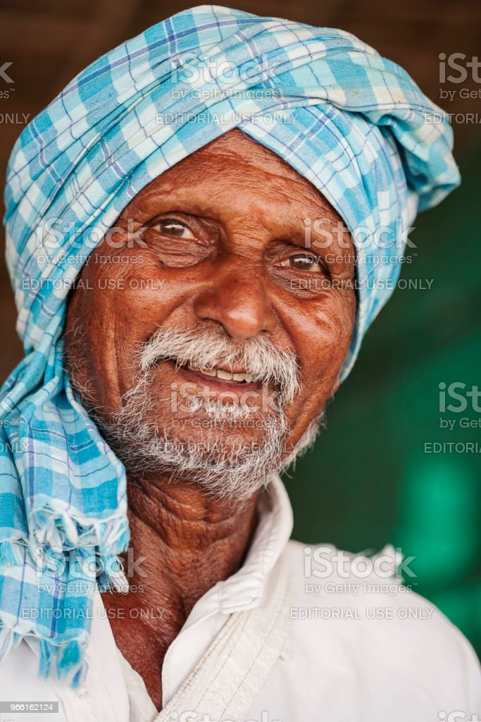 Portrait of Beach Nuts Seller - Royalty-free Adult Stock Photo