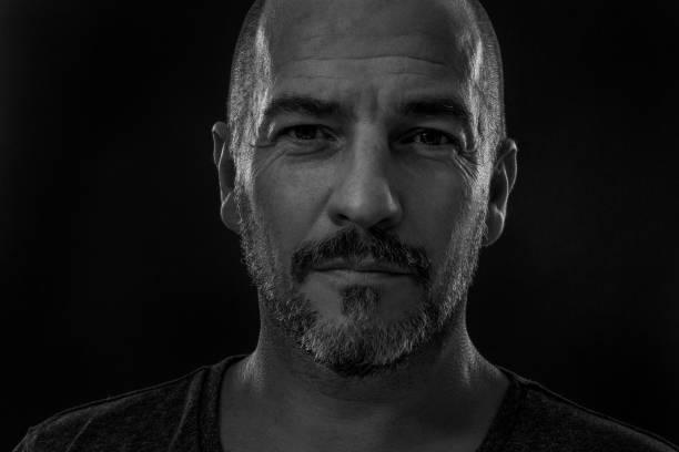 Porträt des bärtigen Mannes – Foto