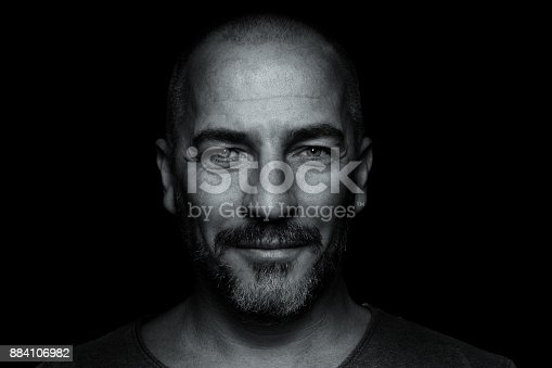 istock Portrait of bearded man 884106982