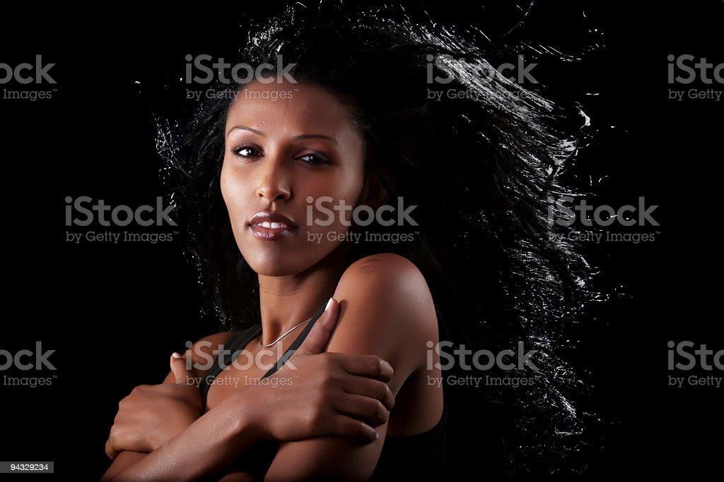 Nude black college girl
