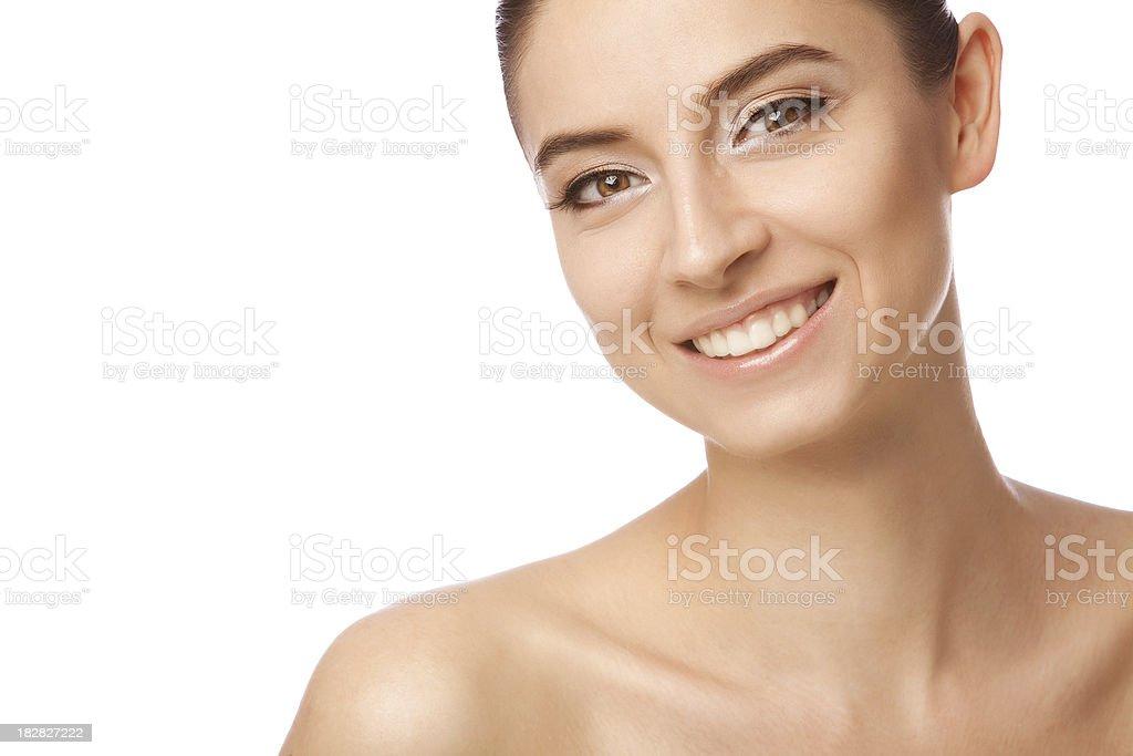 Porträt der schönen und jungen, lächelnden Mädchen – Foto