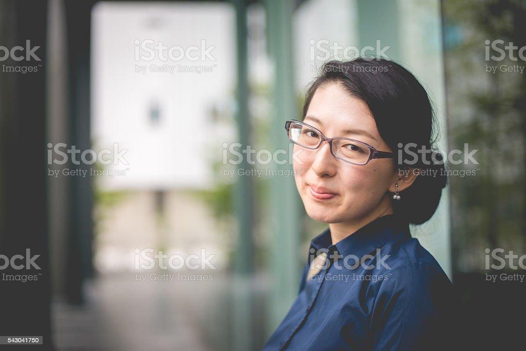 の肖像女性実業家アントレプレナー美しい日本、京都,日本 ストックフォト