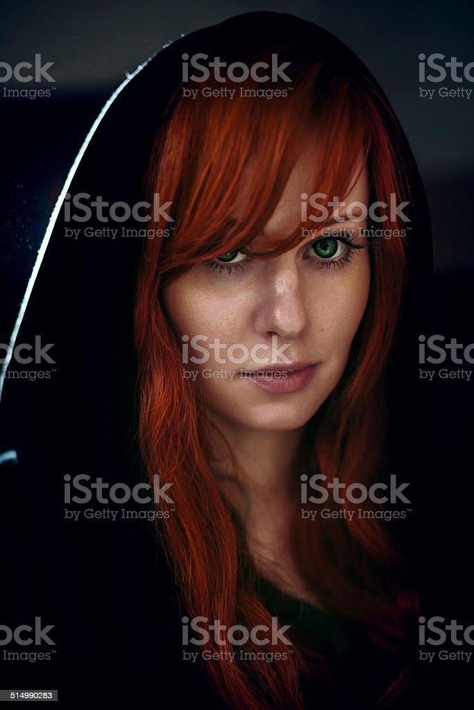 Rote haare schwarz Rothaarige