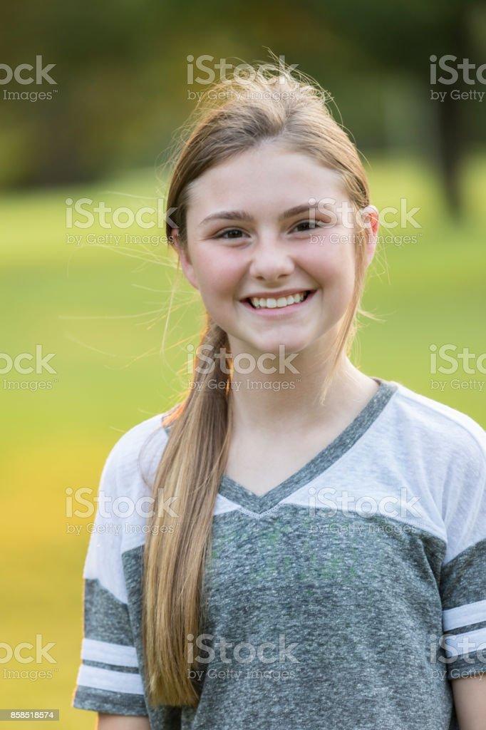 Portrait Of Beautiful Tween Girl Stock Photo Download Image Now Istock