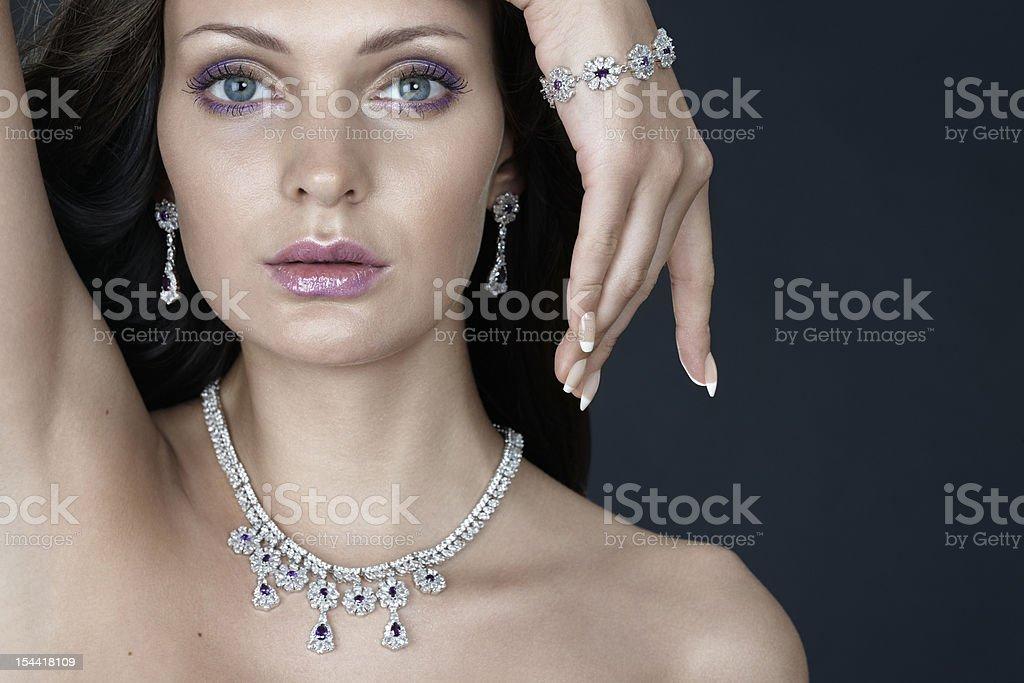 Porträt der schönen Frau – Foto