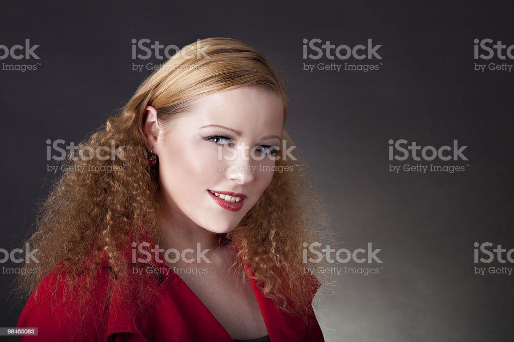 아름다운 여성 인물 사진 royalty-free 스톡 사진