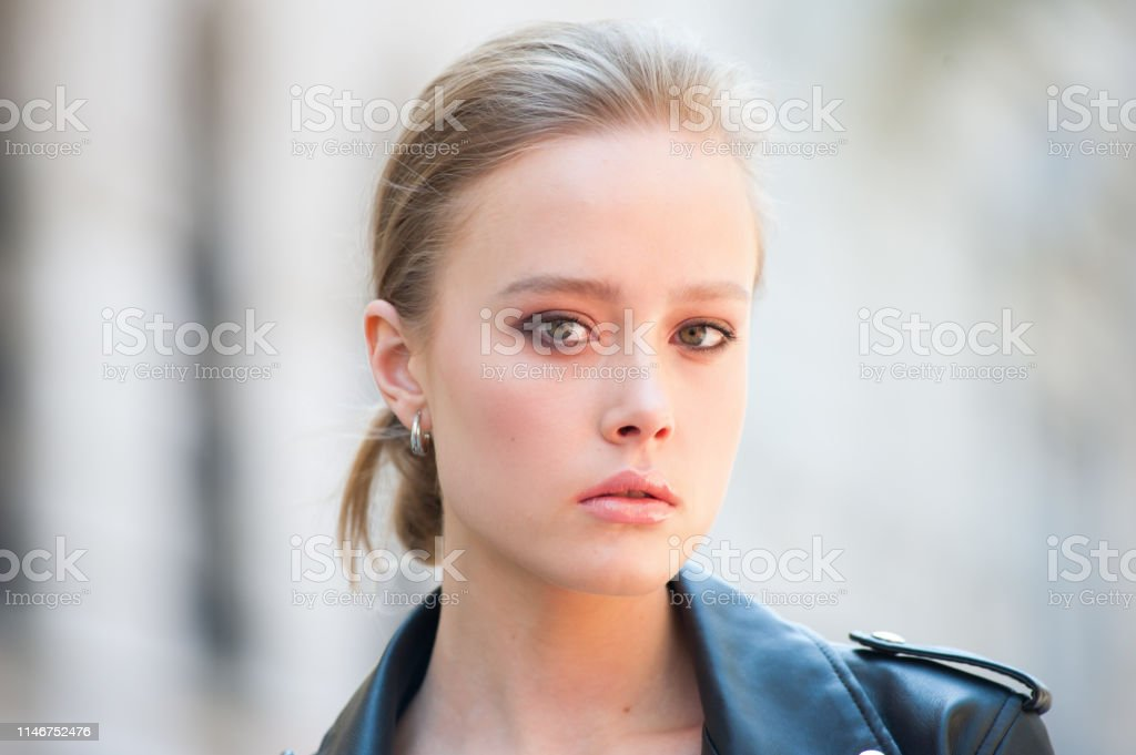 Beauty outdoor woman blonde