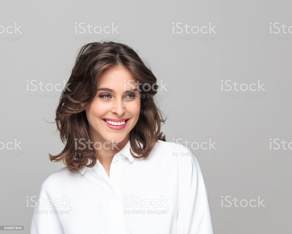 Portrait of beautiful young businesswoman - Royalty-free 25-29 Years Stock Photo
