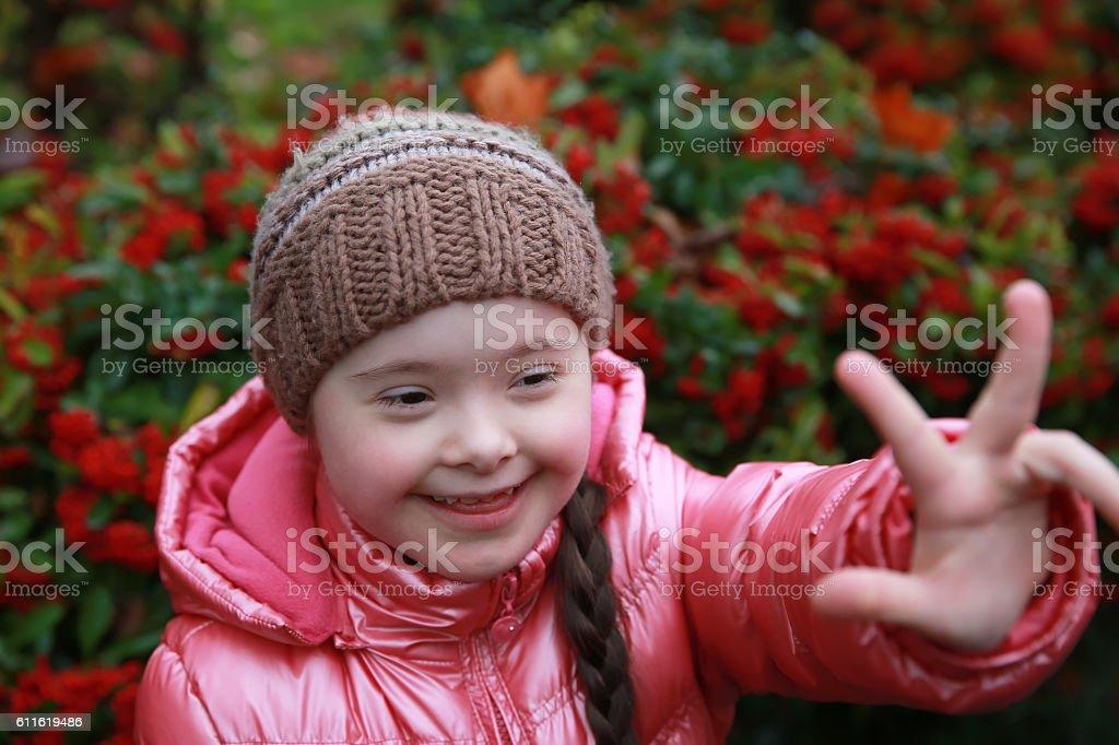 Ritratto di splendida ragazza giovane felice - foto stock