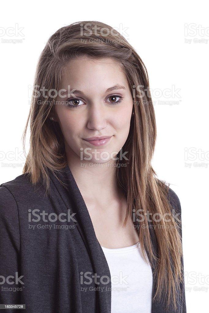 Porträt von schöne junge Frau – Foto
