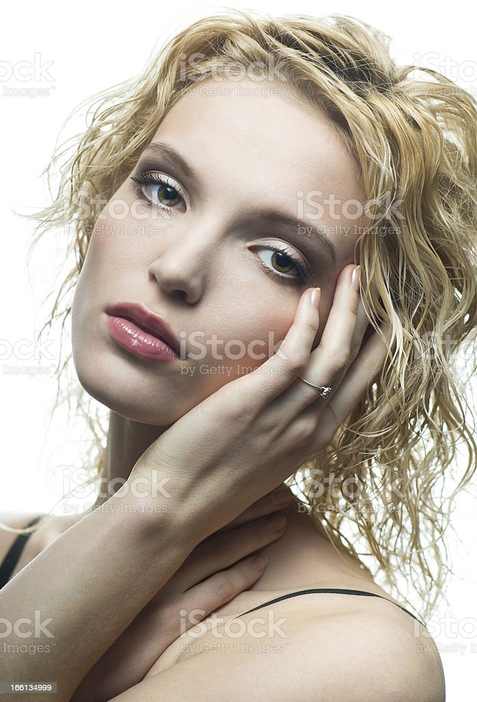Portrait of beauty royalty-free stock photo