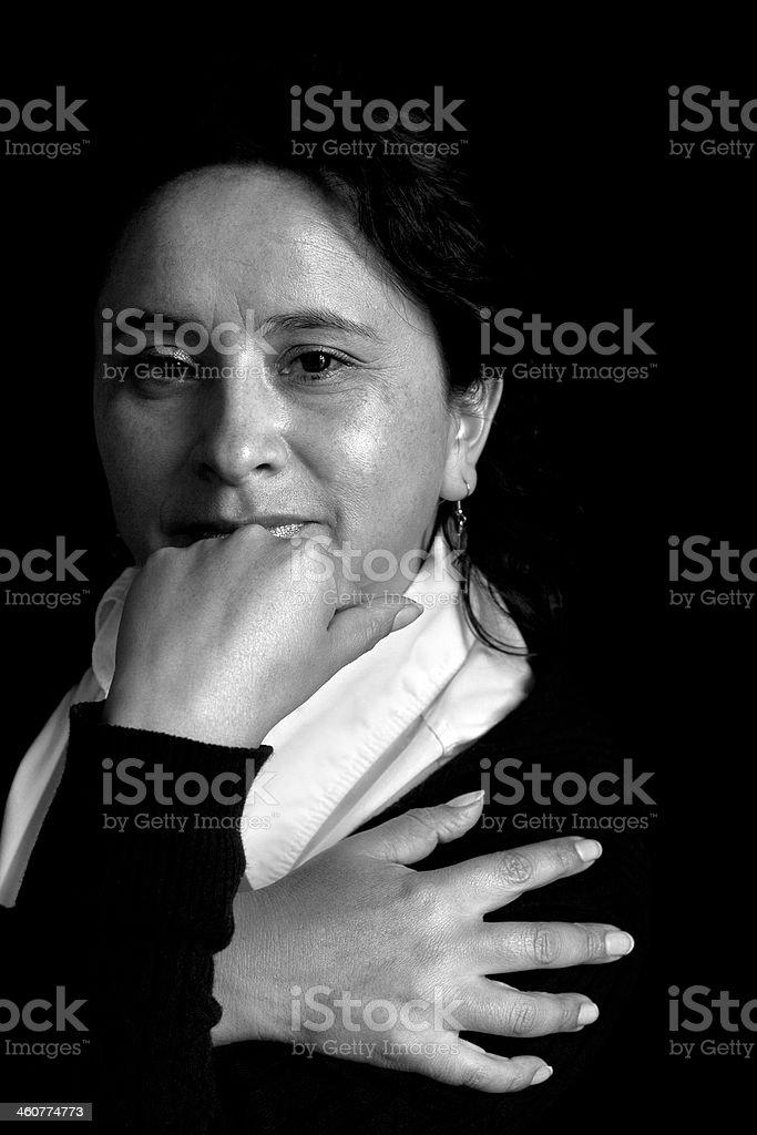 Retrato de mulher a Bolívia - foto de acervo