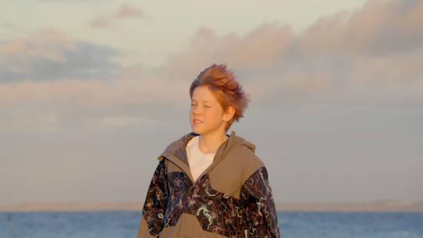 Portrait of boy - foto stock