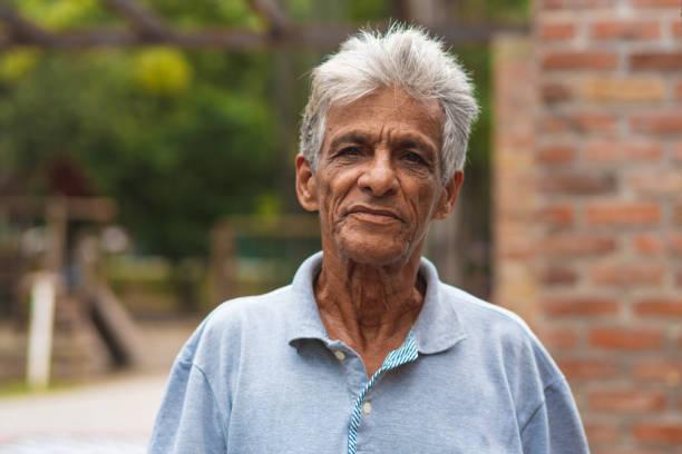 Portrait of brazilian senior man People, Day, Lifestyles, Enjoyment, Portrait brazilian culture stock pictures, royalty-free photos & images