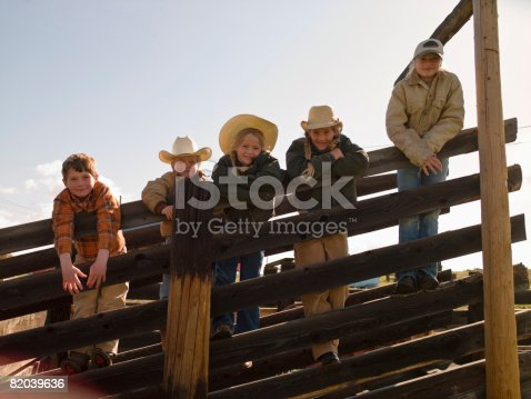 Authentic ranch family in Big Timber, Montana