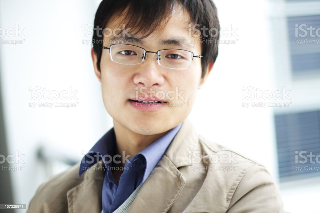 portrait of business man royalty-free stock photo