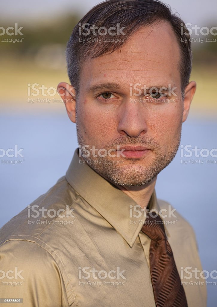 portrait of businessman royalty-free stock photo