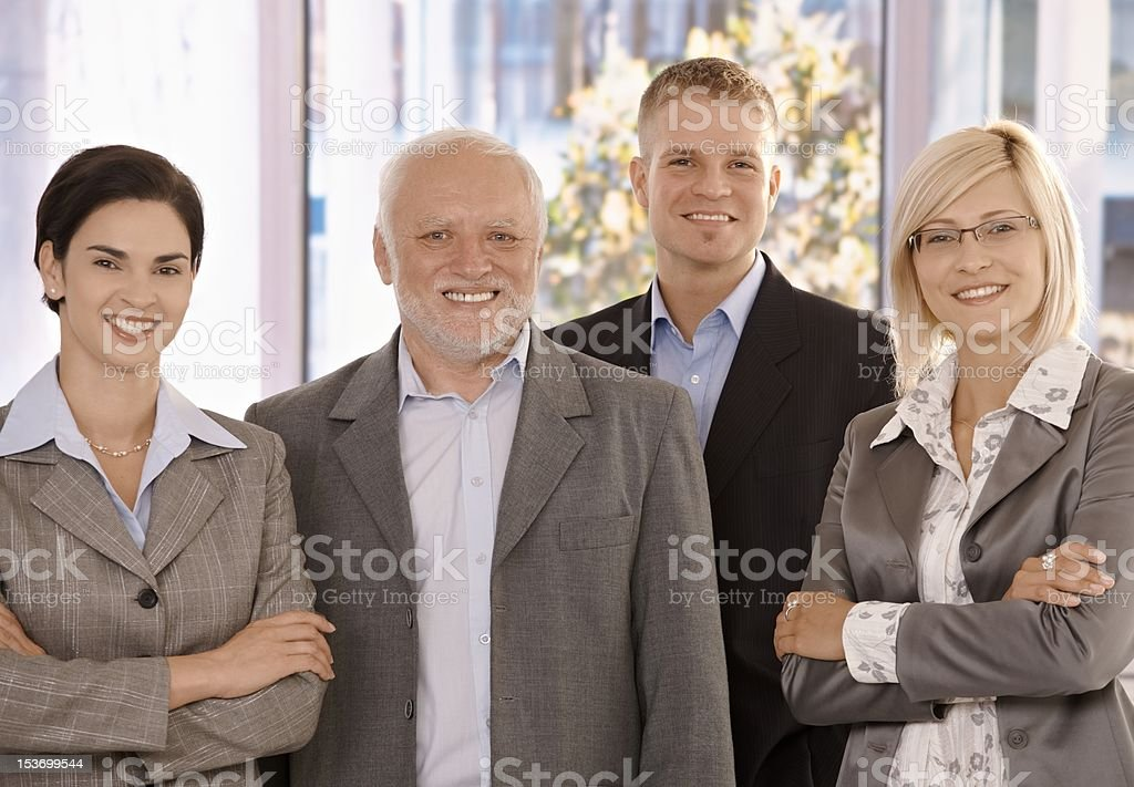 Portrait of businessteam stock photo