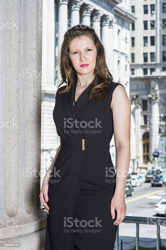 Portrait of businesswoman royalty-free stock photo