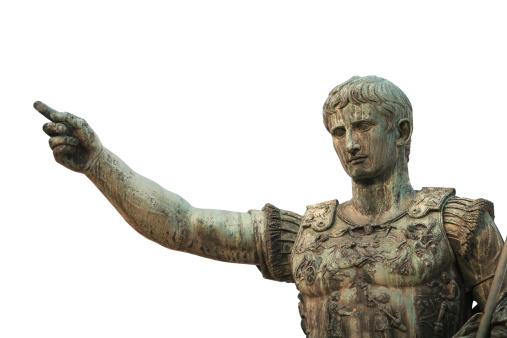Portrait of Caesar Augustus, Rome Italy