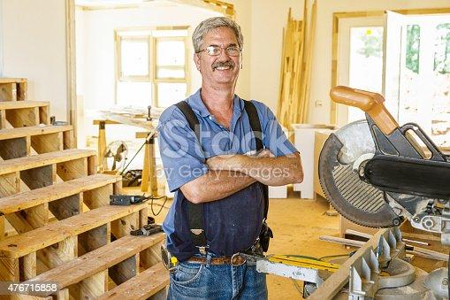 594910248istockphoto Portrait of Carpenter 476715858