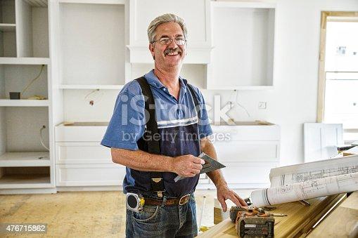 594910248istockphoto Portrait of Carpenter 476715862