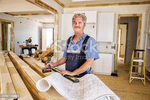 594910248istockphoto Portrait of Carpenter 476715864