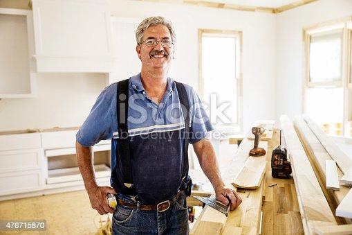 594910248istockphoto Portrait of Carpenter 476715870