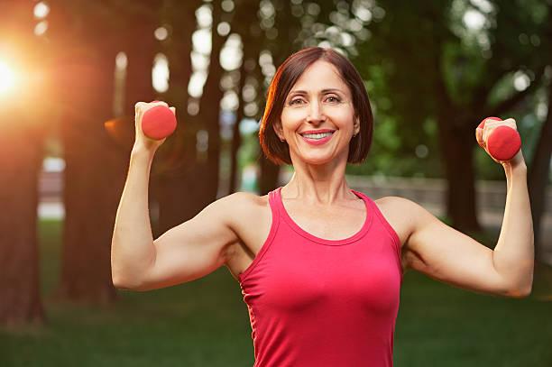 Fitness mature woman — Stock Photo © alanpoulson #60626681