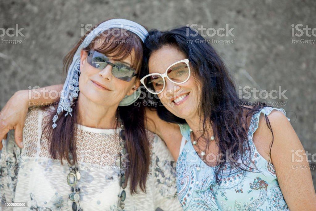 oudere lesbische Fotos