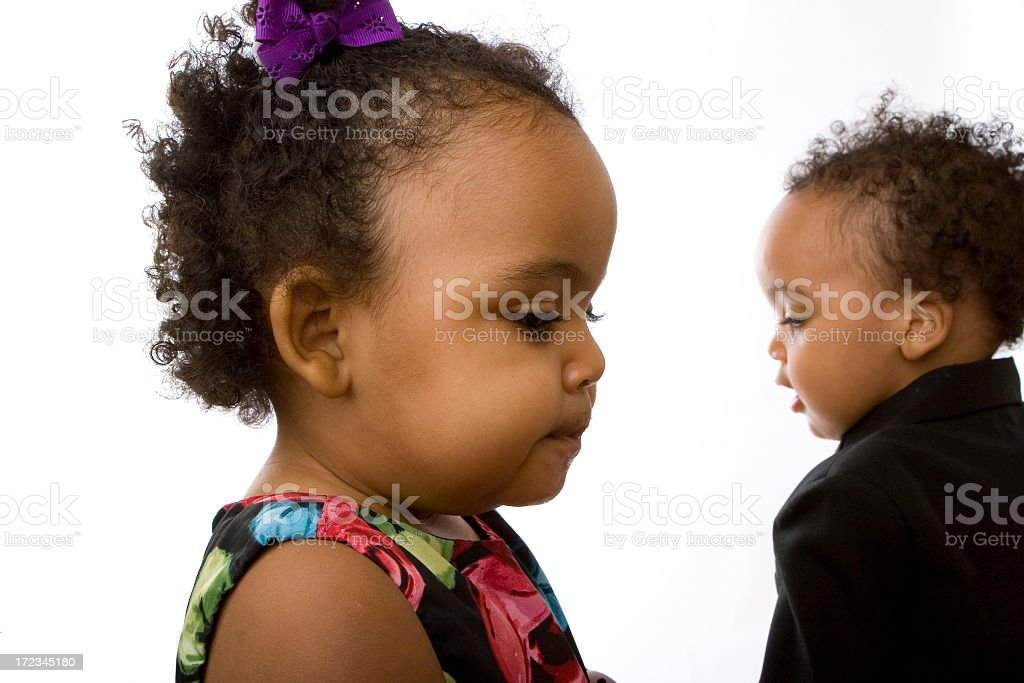 Portrait of Children royalty-free stock photo