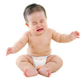 istock Portrait of chubby baby boy crying 147638482