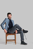 istock Portrait of confident handsome man 514779324
