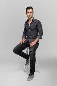 istock Portrait of confident handsome man 531934604