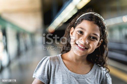 istock Portrait of Cute Girl 939108178