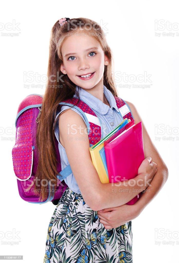 School cute girl