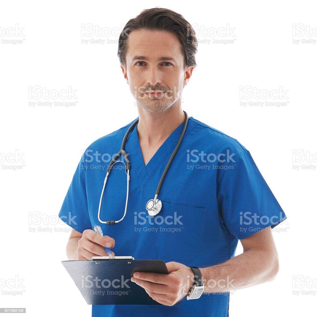 Porträt von Arzt  – Foto