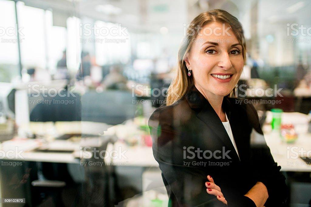 Porträt von Exekutive Geschäftsfrau. – Foto