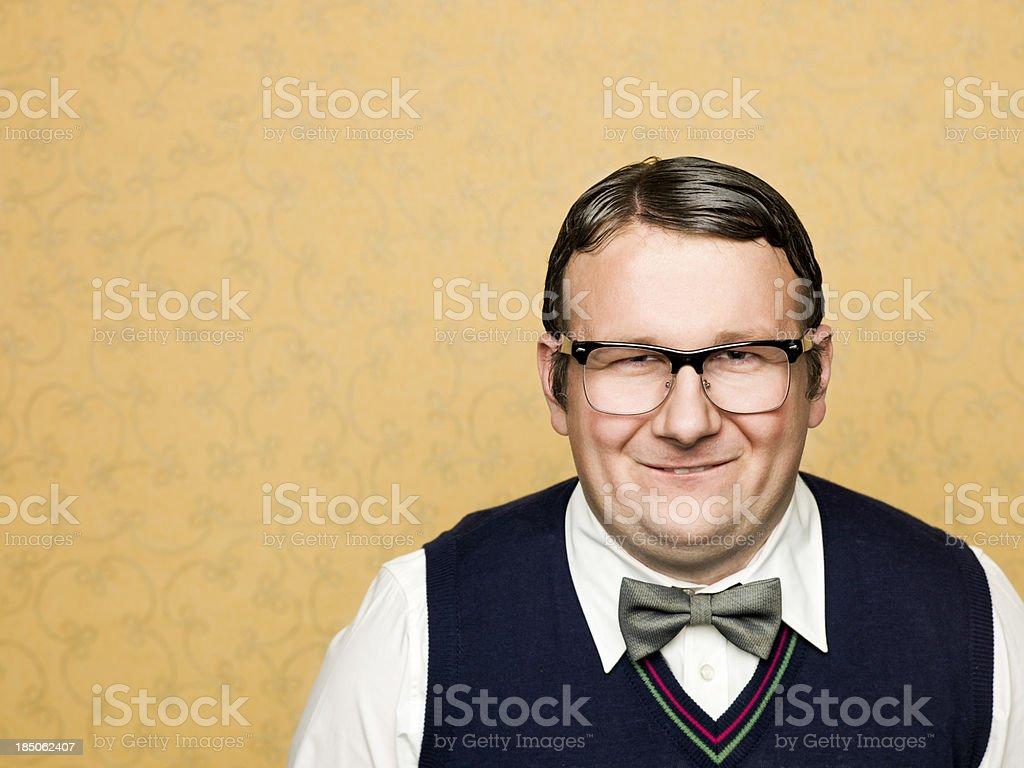 Porträt von Fett männliche Uncool – Foto
