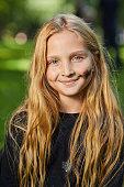 istock Portrait of Girl on Halloween 1274885578
